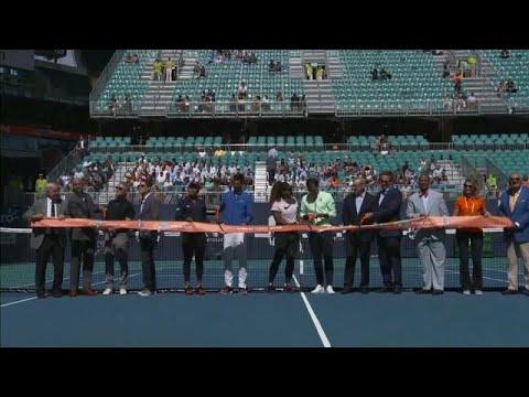 Open de ténis de Miami tem casa nova