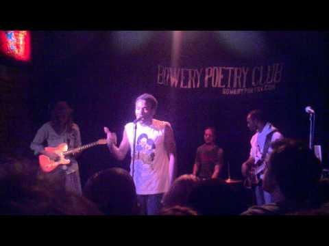 Childish Gambino - Bowery Poetry Room - All The Shine