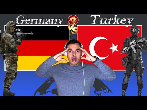 Italian Reaction To 🇹🇷 Turkey vs Germany military power comparisons 2020