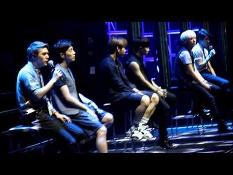 On Rainy Days - Beast - AIA K-POP Live in KL