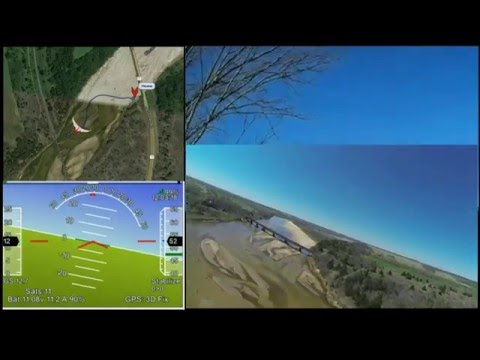 Flight and Tricky Landing (stabilize mode) by  
