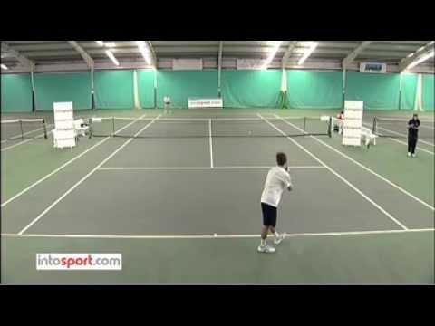 Tennis Serve - intosport.com Tennis Academy - How to serve