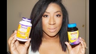 Hair Supplements to Grow Thick, Long, Shiny Hair
