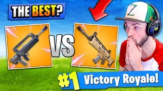 *NEW* LEGENDARY BURST vs LEGENDARY SCAR - Which is BEST? -  Fortnite: Battle Royale!