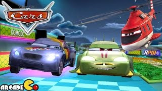 Disney Pixar Cars Fast as Lightning McQueen: Introducing New Car Komodo! The New Japanese Racer!