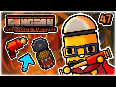Max Curse Heck Blaster | Part 47 | Let's Play: Enter the Gungeon Advanced Gungeons and Draguns
