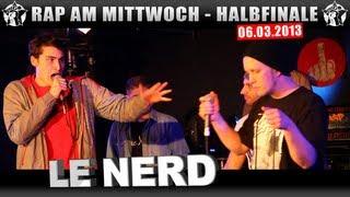 RAP AM MITTWOCH - 06.03.13 BattleMania Halbfinale (3/5) GERMAN BATTLE