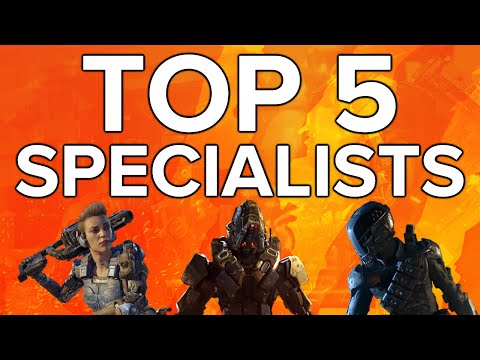 Black Ops 3 In Depth: Top 5 Specialists (Abiliites & Weapons)