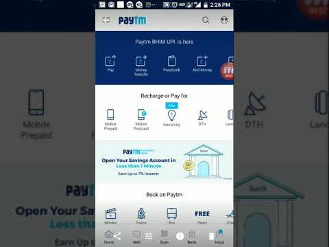 paytm trasfer pay business account free me