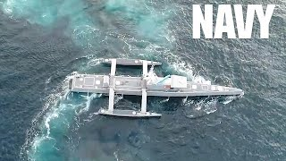 Navy Sea Hunter Drone Ship - World's Largest Unmanned Vessel