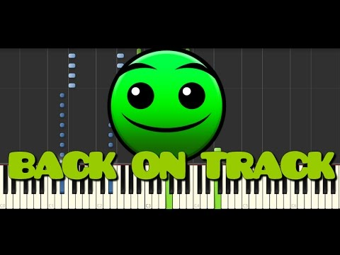 Synthesia [Piano Tutorial] | Geometry Dash - Back on track
