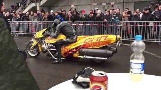 Gerd Habermann Racing mit dem Jetbike auf den BMT 2016