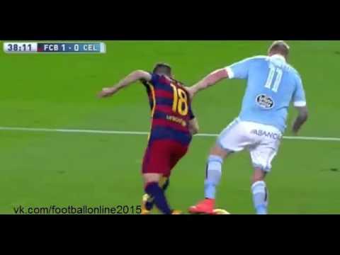Барселона 6 - 1 Сельта  обзор матча 15 02 2016
