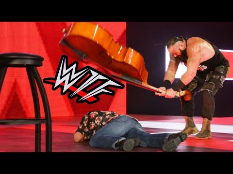 WWE RAW WTF Moments | It's A Double Bass, Not A Guitar