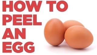 How To Peel An Egg Like A Boss | Foodbeast Labs
