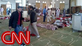 Death toll rises in Egypt mosque attack