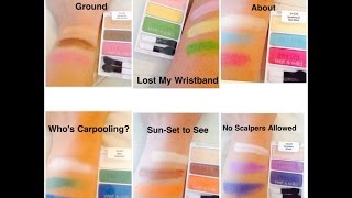 HAUL!!! **New Wet-N-Wild Limited Edition Eye Shadow Summer 2014** Thumbnail
