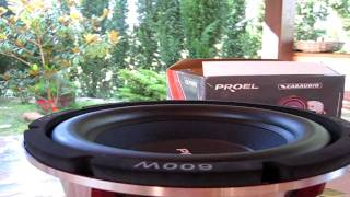Subwoofer Proel 10'' Serie CLPN Car Audio ( Excursion Test) Part 2