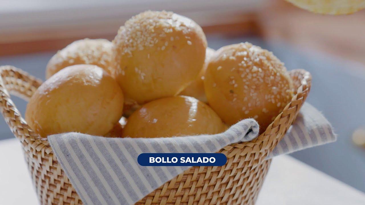 Bollos salados relleno de queso crema Philadelphia®