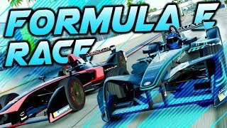 FORMULA E RACE AT LONG BEACH! - Formula E Gameplay Forza 7