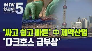 '싸고 쉽고 빠른' 중국 제약 산업…'다크호스 급부상'…