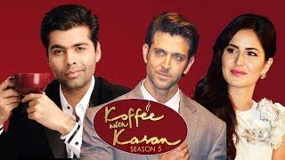 Hrithik Roshan And Katrina Kaif On Koffee With Karan 5