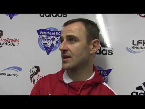 Post-match: Dave Mackay - 26th August.2017