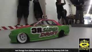 RC Drifting - Galaxy Hobbies Swivel Mount Tests continue