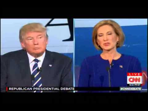 Fiorina and Trump mix it up over her tenure as CEO
