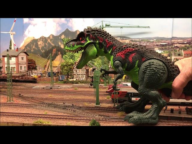 Alexanders Dino på hospitalet