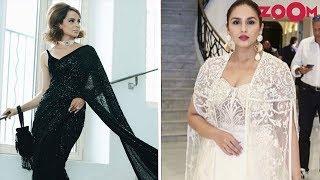 Kangana Ranaut And Huma Qureshi Sizzle At Cannes 2018