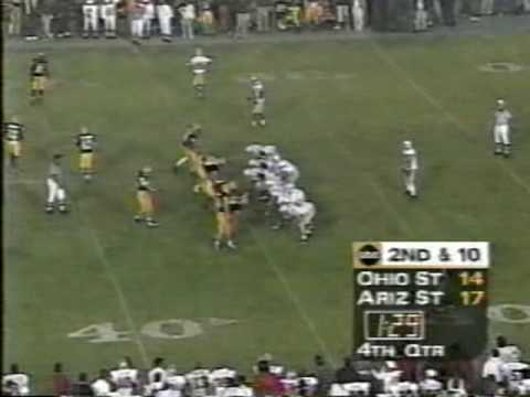 1997 Rose Bowl - game winning drive