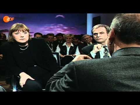 Maybrit Illner, die Zweite Sendung  21.10.1999 mit Merkel und Gysi