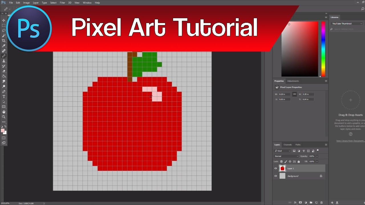 How To Make Pixel Art Icons In Photoshop Pixel Art Icons