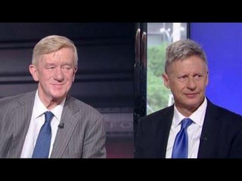 Gary Johnson, Bill Weld lay out Libertarian political agenda