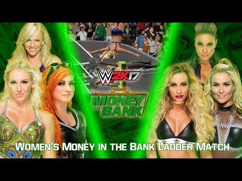 WWE 2K17 | WWE Money in the Bank 2017 Women's Money in the Bank Ladder Match