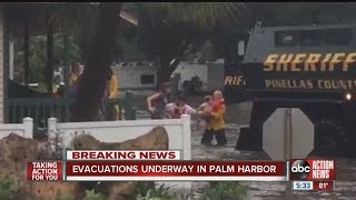 Flooding in Palm Harbor forces evacuations