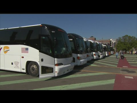 Anderson Motorcoach Company Taking Part In Bus Rally At Capital