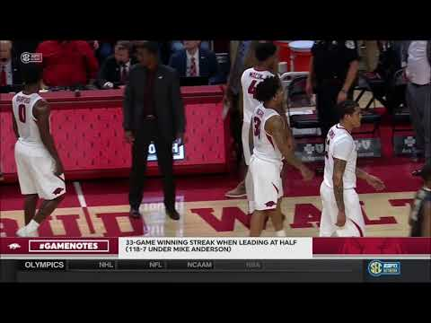 Arkansas vs. Vanderbilt 2/10/2018