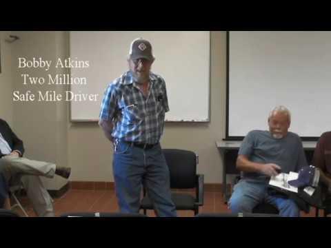 WTI Transport Two Million Safe Mile Driver Bobby Atkins