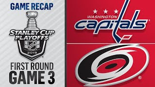 Download Hurricanes stifle Capitals to trim series deficit Mp3 and Videos