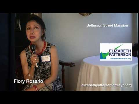 Flory Rosario is voting for Elizabeth Patterson 2016