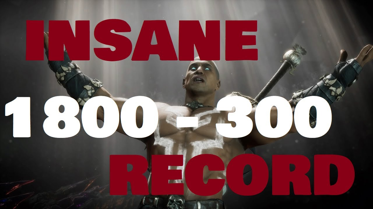 MK11: KING OF THE HILL GUY HAS INSANE RECORD?!