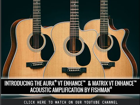 The Aura & Matrix VT Enhance Powered By Fishman