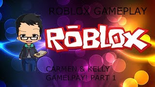 I LIKE ROBLOX!!! - Games with Carmen & Kelly (Christmas Special) Part 1