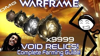 WARFRAME - Relic Farming Guide (December 2016)