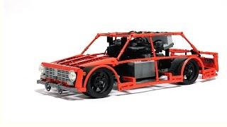 LEGO Technic Super Drift Car Test / ЛЕГО Техник Дрифт Копейка ВАЗ-2101 Тест