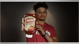 Chiefs fans will get a kick of out Mahomes' first ketchup ad