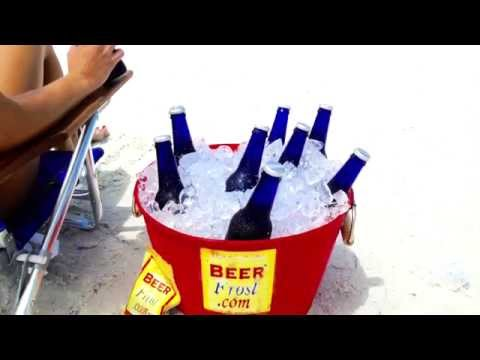 ICE-FROST (Beer Frost) ~ Learn How-To Turn Your Cooler Into a Freezer!