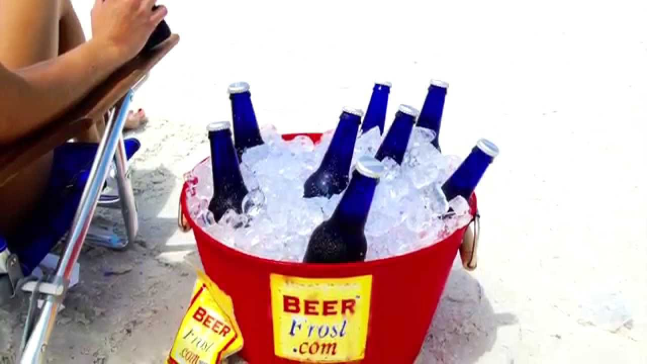 Ice Frost Beer Frost Learn How To Turn Your Cooler